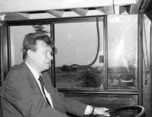 Busfahrer in der ehemaligen DDR