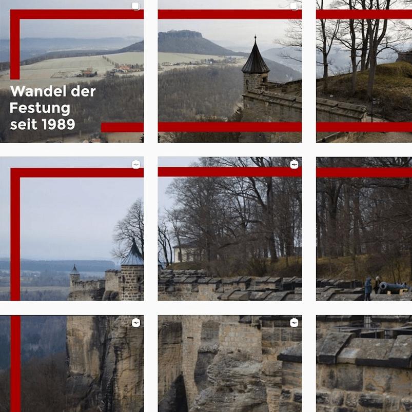 Lebenswandel auf der Festung Königstein