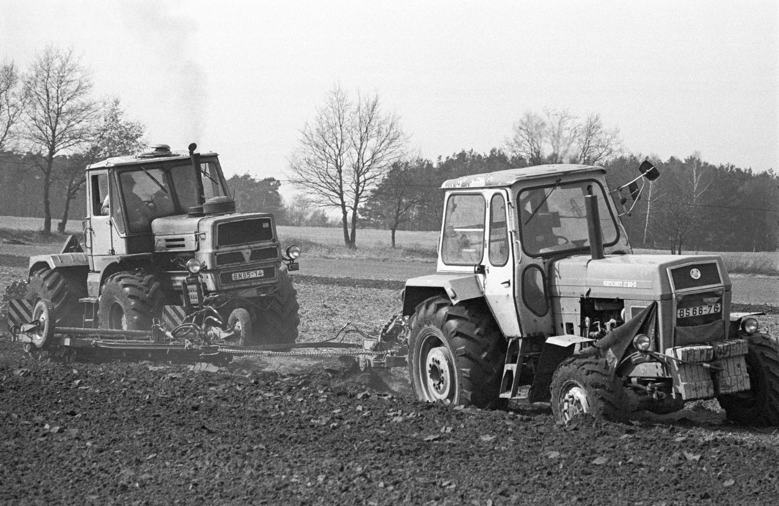 Ostdeutsche Landwirtschaft im Umbruch